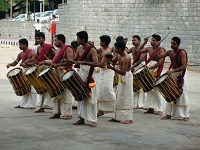 Indian Culture - Drummers from Kerala