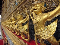 Thai Architecture - Grand Palace in Bangkok