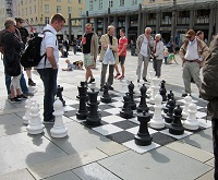 Norwegian Culture - Chess in Bergen