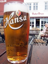 Norwegian Food - Hansa Beer
