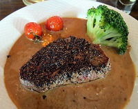 Norwegian Food - Pepper Steak