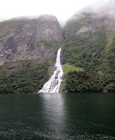 Geirangerfjord, Norway - Suitor Waterfall