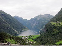 Geirangerfjord, Norway - View of the fjord