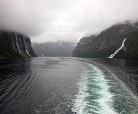 Norwegian Geography - Rainy Day in the Geirangerfjord