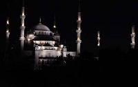 Turkish Architecture - Blue Mosque in Istanbul