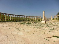 Jordanian Architecture - The Roman city of Jerash