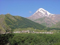 Georgian Geography - Mt. Kazbek