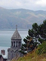 Armenian Architecture - Church in Sevan