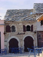 Bosnian Architecture - Stone House in Mostar