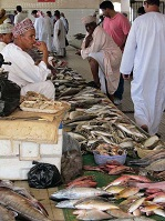 Omani Culture - Fish Market