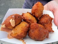 Bahamian Food - Conch fritters