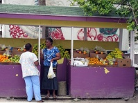 Bahamian Culture - Fruit market