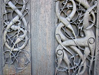 Ornes, Norway - Details on Urnes Stave Church
