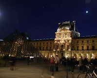 French Architecture - Louvre in Paris