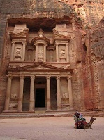 Jordanian Architecture - Treasury in Petra