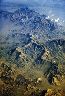 Afghan Geography - Mountains from the air