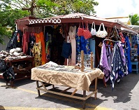 Antiguan and Barbudan Architecture - Street shop