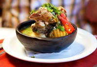 Chilean Food - Cazuela soup