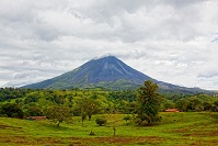 Costa Rican Geography - Arenal Volcano