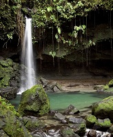 Dominican Geography - Emerald Pool