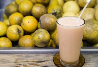 Dominican Food - Melon juice