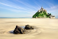 French Geography - Mont-Saint-Michel