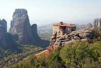 Greek Architecture - Meteora Monastery