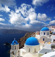 Greek Architecture - Church on Santorini