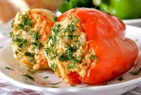 Hungarian Food - Stuffed peppers