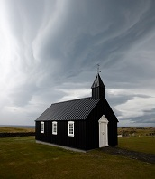 Icelandic Architecture - Church in the country