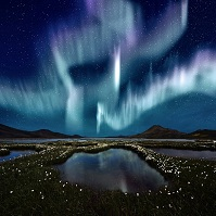 Icelandic Geography - Northern lights