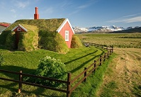 Icelandic Architecture - Traditional house