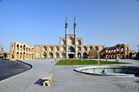 Iranian Architecture - Mosque in Yazd