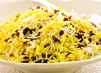Iranian Food - Saffron rice