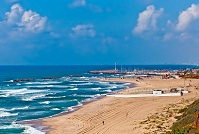 Israeli Geography - Beach in Ashkelon