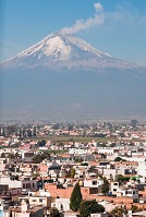 Mexican Geography - Popocateletl Volcano