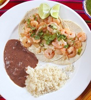 Mexican Food - Shrimp Tacos