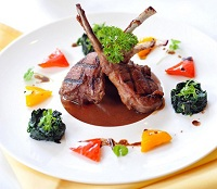 New Zealand Food - Lamb dish