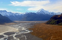 New Zealand Geography - Mt. Cook