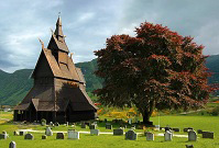 Norwegian Architecture - Stave church