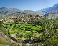 Omani Geography - Village in Oman