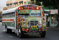 Panamanian Culture - Colorful bus