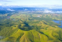 Papua New Guinean Geography - View from the air
