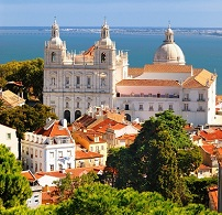 Portuguese Architecture - Church in Lisbon