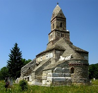 Romanian Architecture - Church in Densus
