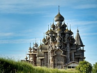 Russian Architecture - Church of Transfiguration on Kizhi Island