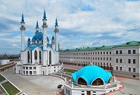 Russian Architecture - Kul Sharif Mosque in Kazan