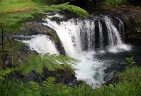 Samoan Geography - Waterfall