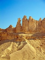 Saudi Geography - Rocks in the desert