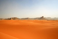 Saudi Geography - Red sands in the desert